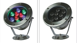 户外亮化水底灯为什么要使用不锈钢做灯体