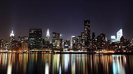 户外亮化工程打造不夜城,助力夜游经济