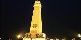 文化广场夜景亮化