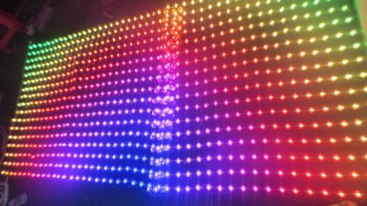 led点光源屏