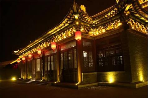 合创未来照明古建筑亮化