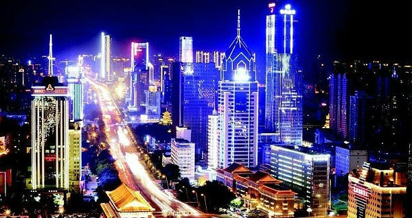 城市楼宇亮化