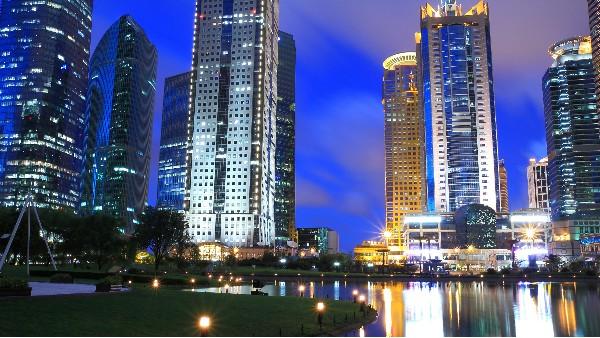 城市照明亮化