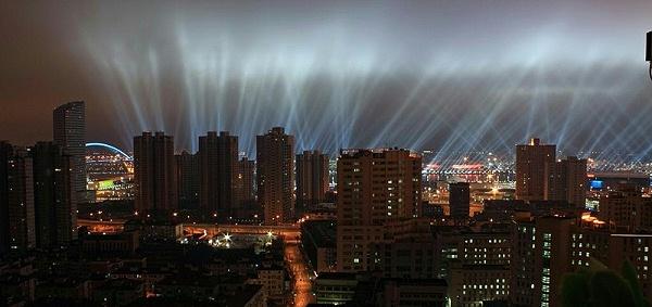 城市光污染