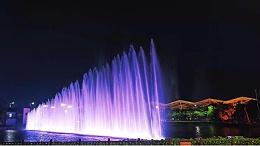 户外广场喷泉亮化